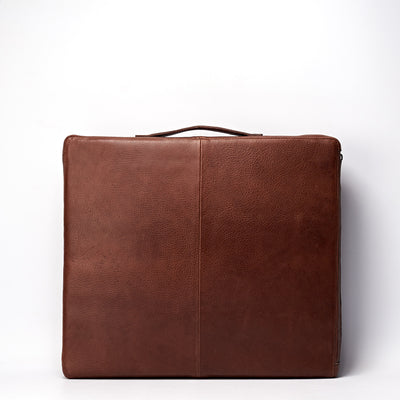 Back. travel meditation cushion. Leather meditation cushion, perfect for yoga and meditation. Modern squared zafu