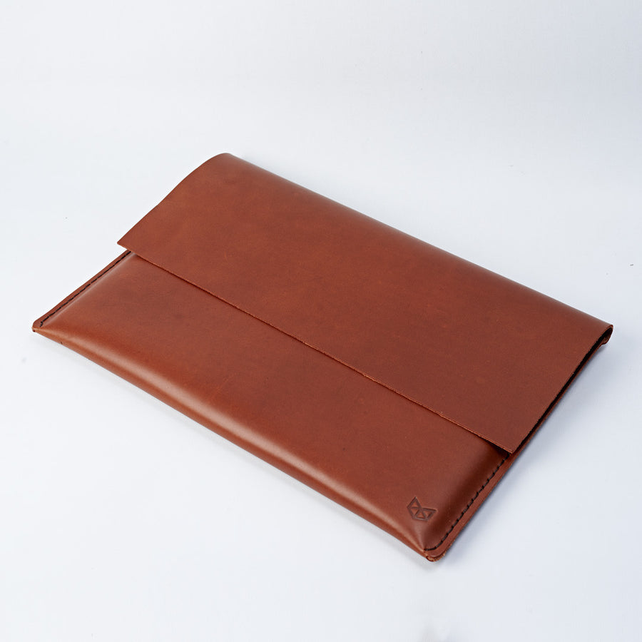 Closed leather case for Dell XPS