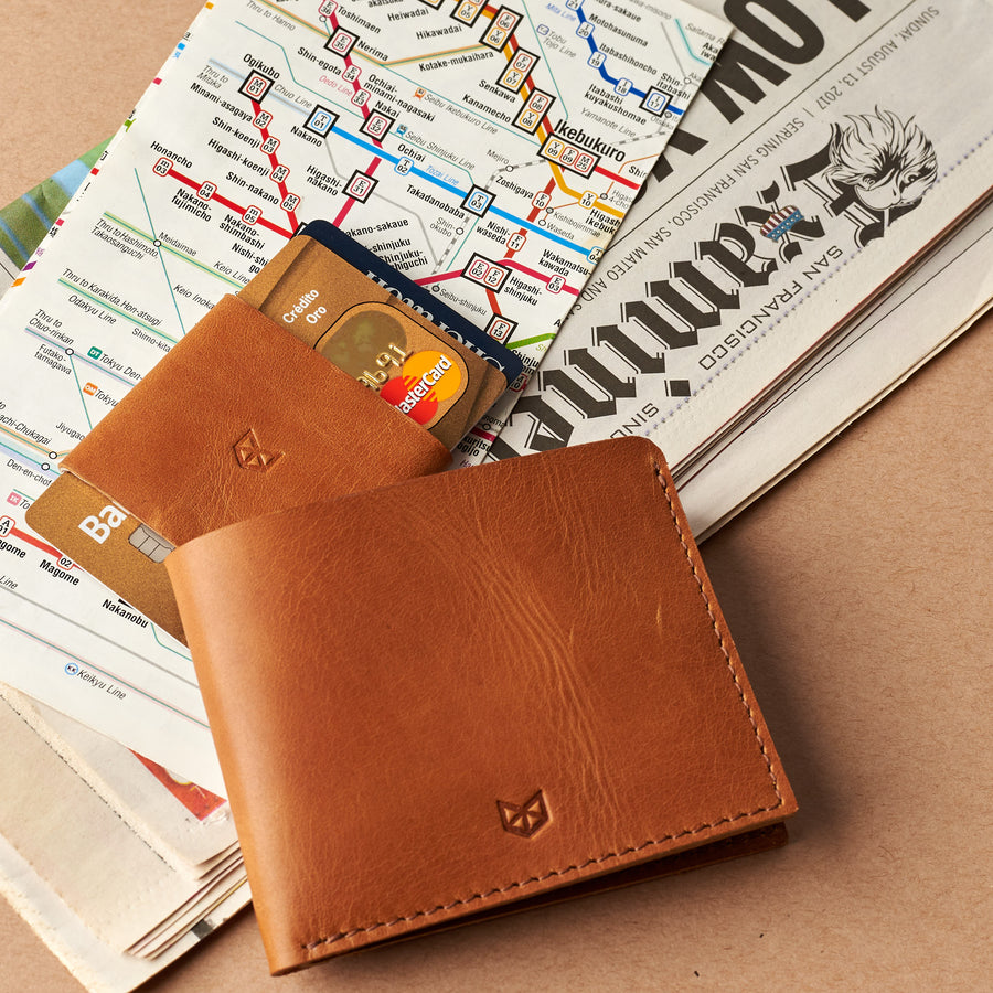 Slim Wallet Kit · Havana