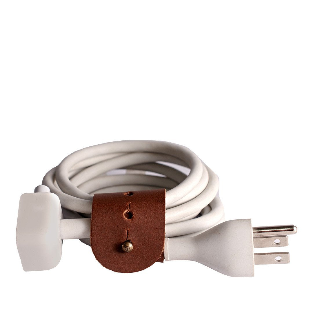 Cover. Light Brown Cable Tie, Mens cable holder, storage management