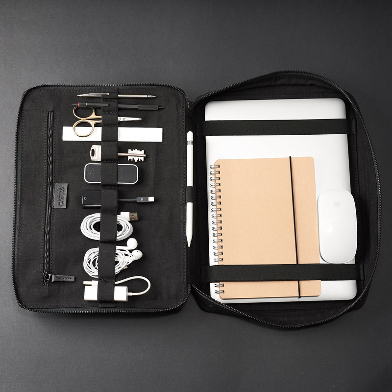 Tech Laptop Tablet Bag · Black