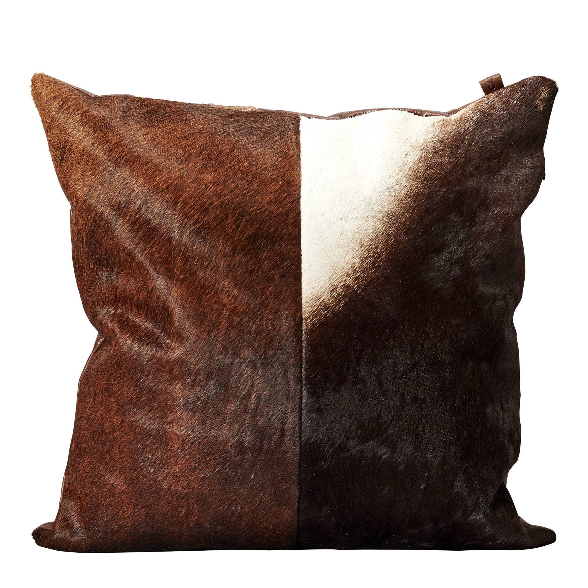 Cowhide Dual Cushions By Capra Leather Capra Leather