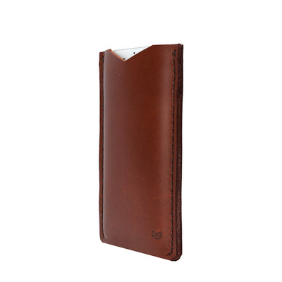 Acorn leather iPhone Classic Case for iPhone 8 Plus, iPhone x, iPhone 10, gifts for men