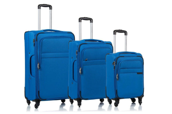 Valises 3 mcx Champs Collection Brooklyn C7000 - Bleu