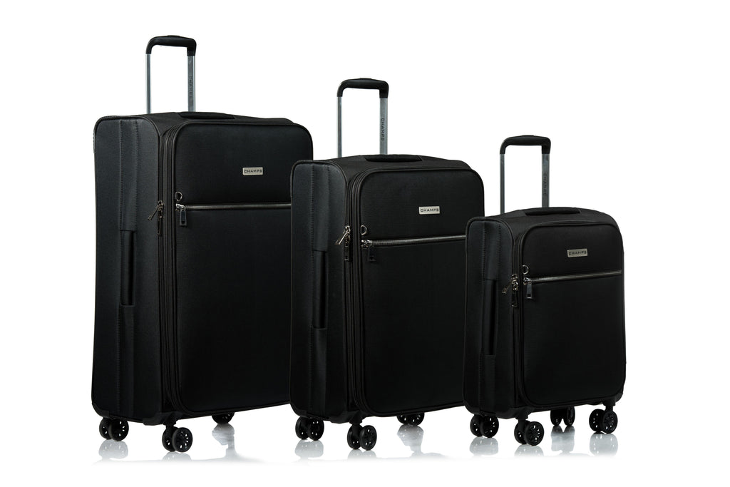 Valises 3 mcx Champs Collection Soho C8000 - Noir