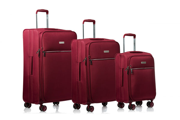Valises 3 mcx Champs Collection Soho C8000 - Rouge
