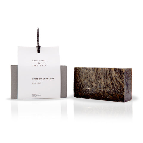 Bamboo Charcoal Bar Soap