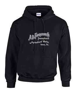Hoodie with Farquhar Large Logo