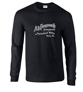 Long Sleeve T-Shirt with Farquhar Large Logo