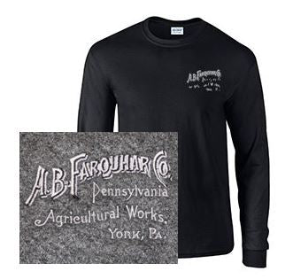 Long Sleeve T-Shirt with Farquhar Logo