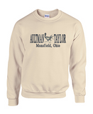 Crew Neck Sweatshirt with Aultman Taylor Banner