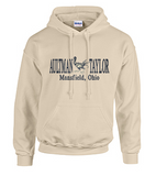Hoodie with Aultman Taylor Banner