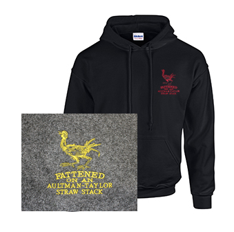 Hoodie with Aultman Taylor Fattened Rooster