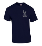 Short Sleeve T-Shirt with Aultman Taylor Fattened Rooster