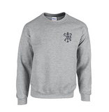 Crew Neck Sweatshirt with Aultman Taylor Logo