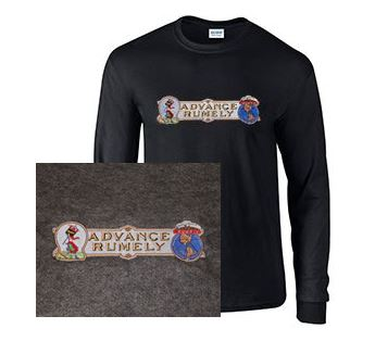 Long Sleeve T-Shirt with Advance Rumely Large Logo