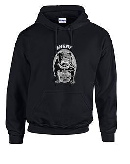 Hoodie with Avery Large Logo