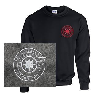 Crew Neck Sweatshirt with Baker Logo