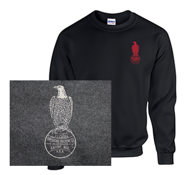 Crew Neck Sweatshirt with Case Outline Logo