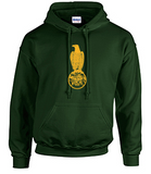 Hoodie with Case Outline Large Logo