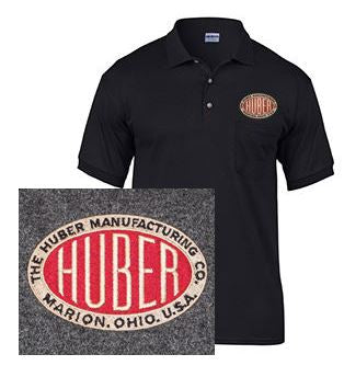 Short Sleeve Polo with Huber Logo