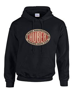 Hoodie with Huber Large Logo