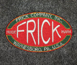Crew Neck Sweatshirt with Frick Large Logo