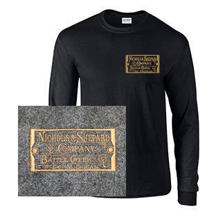 Long Sleeve T-Shirt with Nichols & Shepard Plate