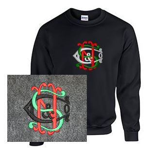 Crew Neck Sweatshirt with Nichols & Shepard Large Logo