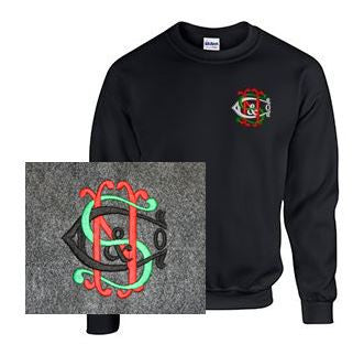 Crew Neck Sweatshirt with Nichols & Shepard Logo
