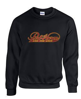 Crew Neck Sweatshirt with Port Huron Large Logo
