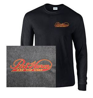 Long Sleeve T-Shirt with Port Huron Logo
