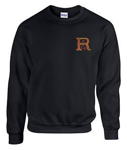 Crew Neck Sweatshirt with Russell Logo