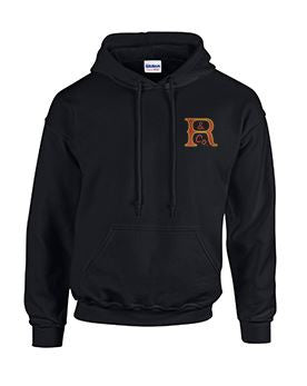 Hoodie with Russell Logo