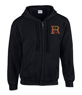 Full Zip Hoodie with Russell Logo