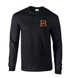 Long Sleeve T-Shirt with Russell Logo