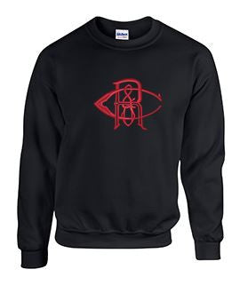 Crew Neck Sweatshirt with Reeves Large Logo