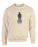 Crew Neck Sweatshirt with Case Outline Large Logo