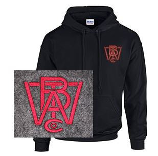 Hoodie with Wood Brothers Logo