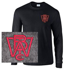 Long Sleeve T-Shirt with Wood Brothers Logo