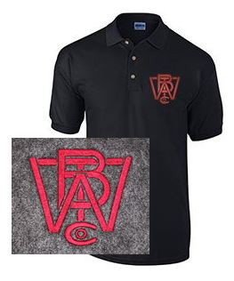 Short Sleeve Polo with Wood Brothers Logo