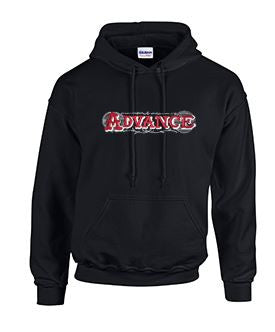 Hoodie with Advance Large Lettering