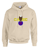 Hoodie with Case Color Large Logo