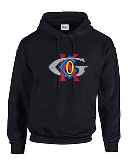 Hoodie with Keck-Gonnerman Large Logo
