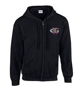 Full Zip Hoodie with Keck-Gonnerman Logo