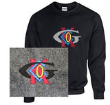 Crew Neck Sweatshirt with Keck-Gonnerman Large Logo