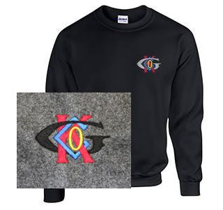 Crew Neck Sweatshirt with Keck-Gonnerman Logo
