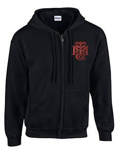 Full Zip Hoodie with Minneapolis Logo