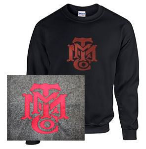 Crew Neck Sweatshirt with Minneapolis Large Logo