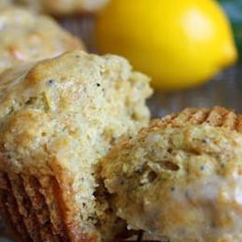 Delicious Organic Chia Seed Lemon Muffins